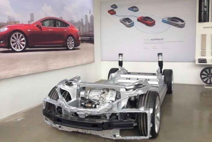 tesla chassis